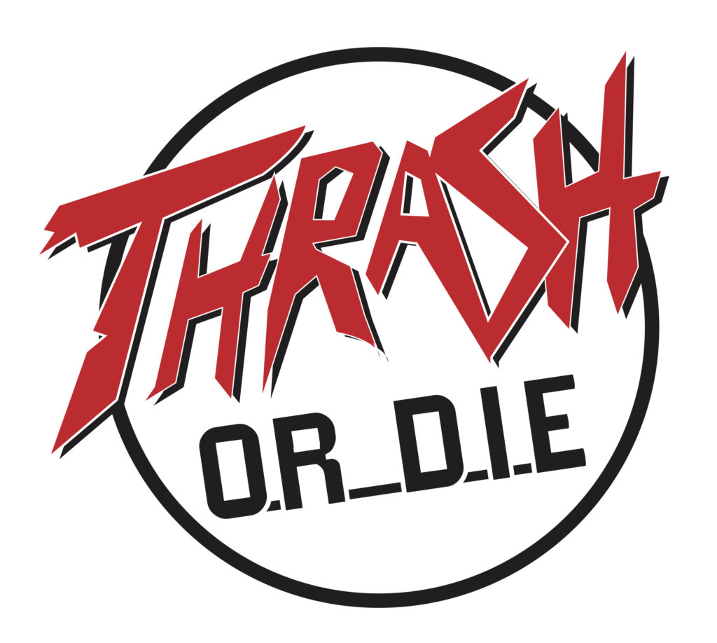 Logo Red and Black 1 Thrash or Die