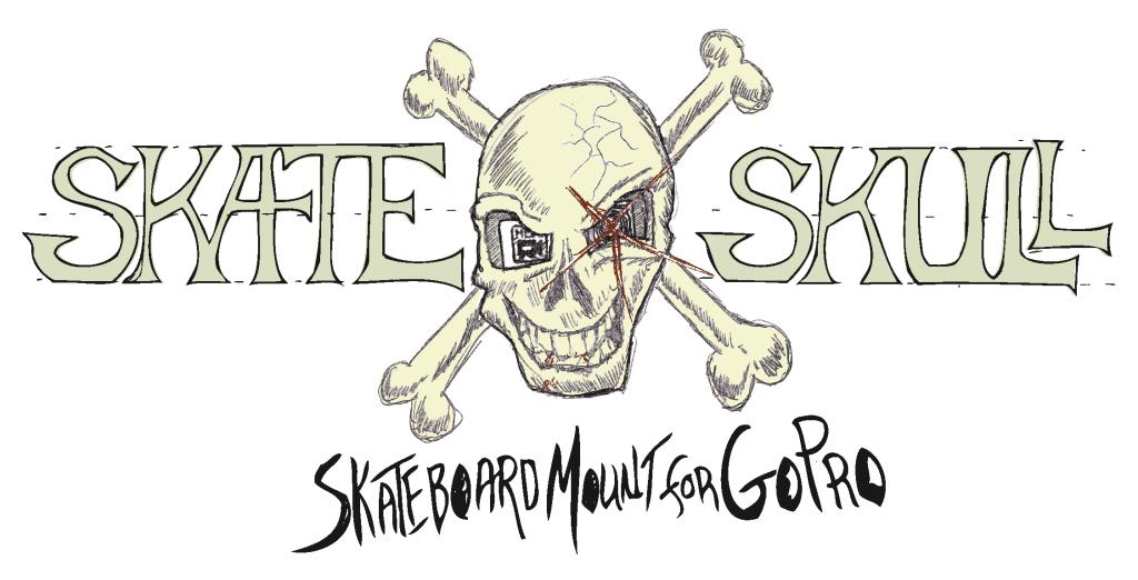 Skate Skull with Tagline Logo 10-13-2014