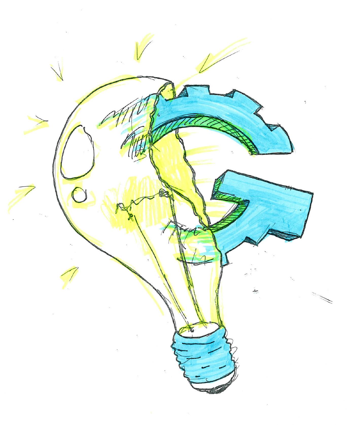 Idea Genesis Logo Sketch